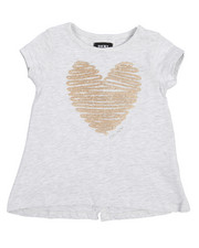 DKNY Jeans - Heart Split Back Tee (2T-4T)-2209764