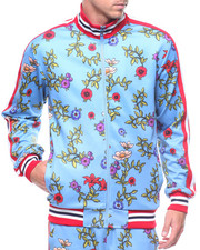 Light Jackets - Floral Track Jacket-2210908