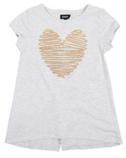 Tops - Heart Split Back Tee (7-16)