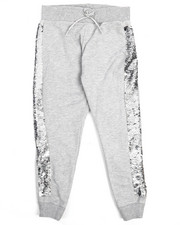 Bottoms - Flip Sequin Joggers (7-16)-2211208