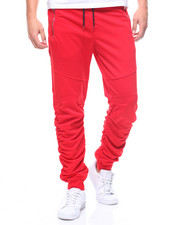 SWITCH - SHIRRED LEG TRICOT JOGGER