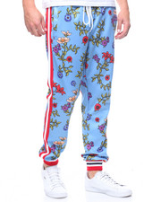 Reason - Floral Track Pants-2212017