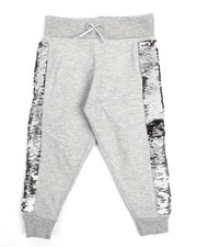 Bottoms - Flip Sequin Joggers (2T-4T)-2211195