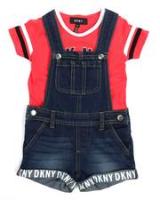 DKNY Jeans - Tee & Shortalls Set (2T-4T)-2210117