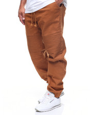 Men - Tabacco Stretch Wash Twill Moto Jogger (B&T)-2211714
