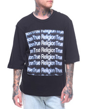 True Religion - SS OVERSIZED 3D TEE-2210579