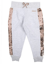 Bottoms - Flip Sequin Joggers (2T-4T)-2211217