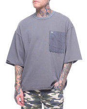 Global Movement Mens - OVERSIZED POCKET TEE-2210554