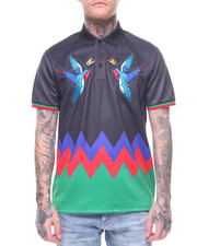 Eternity BC / AD - Rose Bird Polo Shirt-2212747