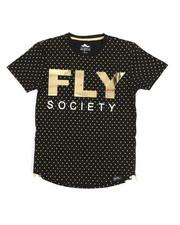 Flysociety - Mirror Foil Fashion Tee (8-20)-2211380