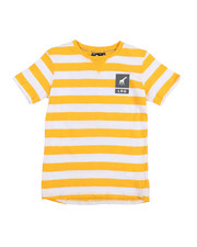 Tops - Prep Sports Stripe Tee (8-20)-2212179