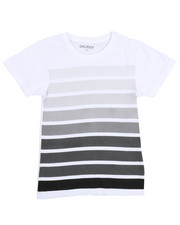 Boys - Crew Neck Stripe Tee (8-20)-2211820
