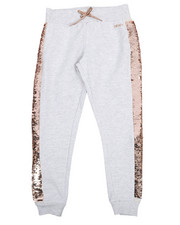 Sizes 7-20 - Big Kids - Flip Sequin Joggers (7-16)-2211230