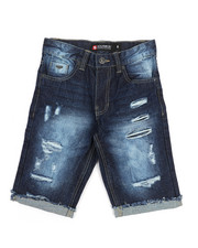 Southpole - Ripped Denim Shorts (8-20)-2212514