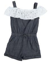 Sizes 2T-4T - Toddler - Denim Shortalls (2T-4T)