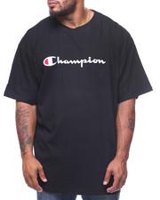 Champion - Retro Champion Script Short Sleeve Tee (B&T)
