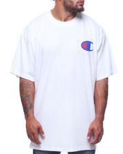 Cyber Monday Deals - Champion S/S Left Chest Tee (B&T)-2213081