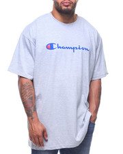 Big & Tall Faves - S/S  Retro Champion Script Tee (B&T)-2212888