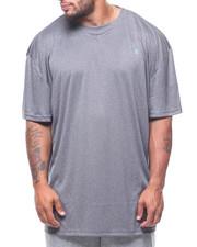 Shirts - Heather Crew Rib (B&T)-2213018