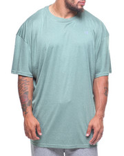 Short-Sleeve - Heather Crew Rib (B&T)
