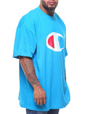 Shirts - Retro Champion Script Short Sleeve Tee (B&T)-2212991
