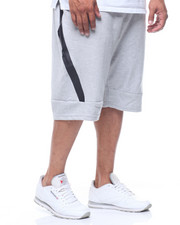 Shorts - Tech Fleece Shorts/Wrap Round Heat Seal Zipper (B&T)-2212940