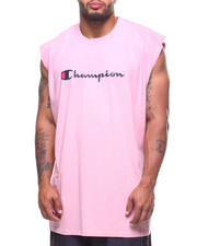 Champion - Basic Muscle Script Logo Tank Top (B&T)-2213253