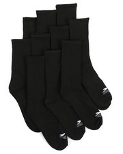 Accessories - 10Pk Cushioned Crew Socks