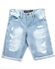 Southpole - Ripped Denim Shorts (8-20)-2212507