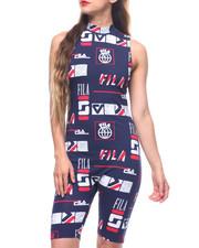 Fila - Vera Printed Sleeveless Unitard
