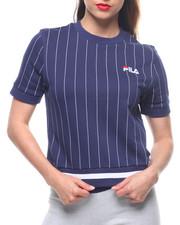 Spring-Summer-W - Bren Pinstripe Sweatshirt
