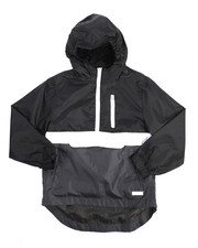 Light Jackets - Pullover Anorak Rainshell Jacket (8-20)