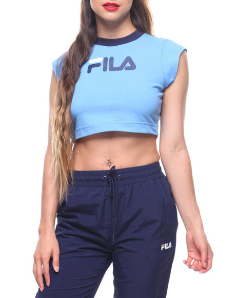 Fila - PIA Rib Crop Top