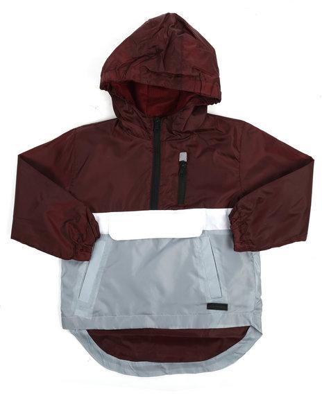 Arcade Styles - Pullover Anorak Rainshell Jacket (4-7)