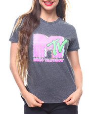 Graphix Gallery - MTV  Burnout Shirt Tail Tee