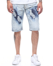 SWITCH - PAINTED OVER DENIM SHORT