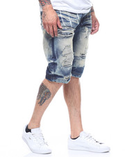 SWITCH - PAINT SPLATTER DENIM SHORT