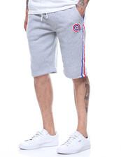 Shorts - ROGER FLEECE TAPE DETAIL SHORT-2214189