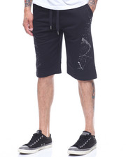 SWITCH - FOIL CRACK TERRY SHORTS