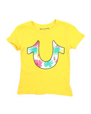 Tops - Tropical Horseshoe Tee (7-16)