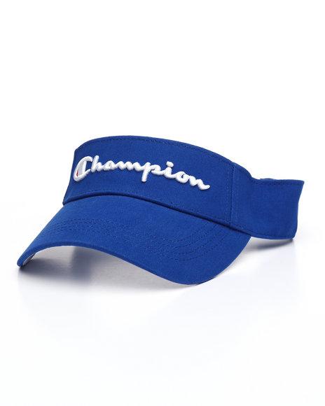 Champion - Twill Logo Mesh Visor