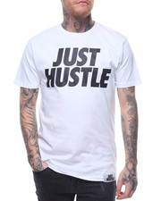 Shirts - S/S Just Hustle Statement Tee