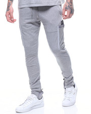 Jeans & Pants - MESH CARGO POCKET FLEECE JOGGER-2214673