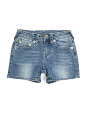 Bottoms - Natural SE Shorts (7-16)-2213916