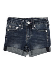Girls - Boyfriend Shorts (4-6X)