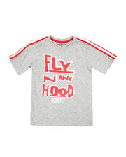 Born Fly - Classics Sleeve Taping Tee (8-20)-2213747
