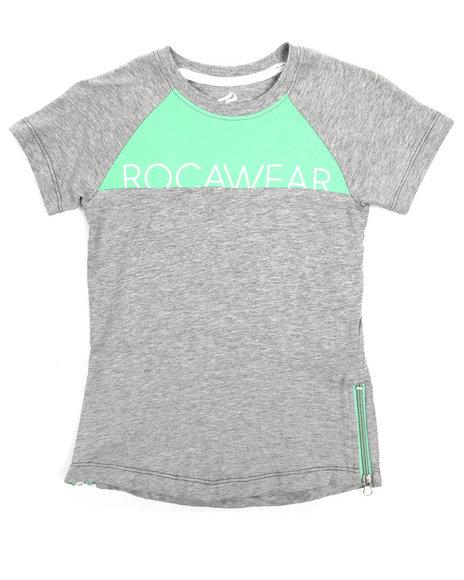 Rocawear - Cut N Sew Pop Jersey Tee (4-7)