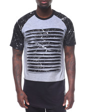 SWITCH - FOIL CRACK PRINT RAZOR TEE