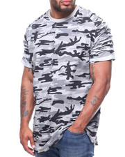 Phat Farm - S/S Printed Rip & Repair Crew Jersey/Side Zipper (B&T)-2215094
