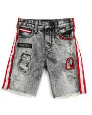 Born Fly - Classics Washed Denim Shorts (8-20)